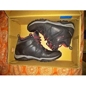 Zapatos En Negros Mujer Dama Columbia Para Libre Mercado 08nyvwPmON