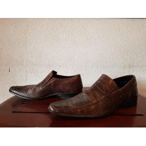 c2fdf90a6d8 Oferta Zapatos De Piel De Serpiente Puntales Marca Divano