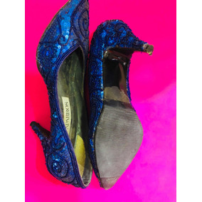 e53368dc Zapato Baile Salsa Usado - Zapatos de Mujer Azul, Usado en Mercado ...