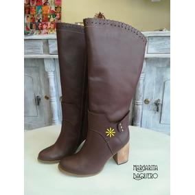 f8dae67f5447b Botas De Cuero Para Damas Colombiana De Bucaramanga - Zapatos en ...