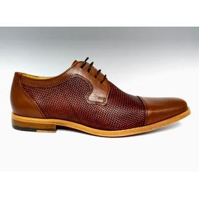 f907f3e2ef6 Zapato Vestir Brantano Caballero Coñac Envío Gratis! 7064