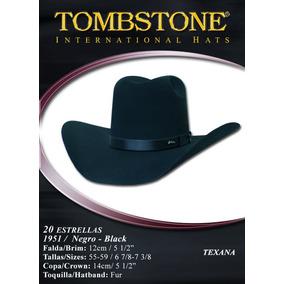 31540b271b Texana Tombstone Modelo 1951 Negra. Caballero -el Güero-