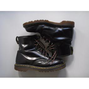 9dedf7fea47c6 Botas Dr Martens Negras Made In Inglaterra T 38 Uk 7 Usadas