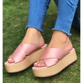 65c085133 Sandalias Plataforma Plana - Zapatos para Mujer en Mercado Libre ...