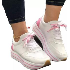 Para Zapato Zapatos Mujer Tenis Tipo Vestir De Plataforma rsdhxtQCB