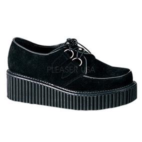 b79344a5520 Zapatos De Plataforma Creepers Con Calavera Dark Punk - Zapatos de ...