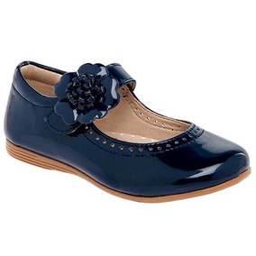 fc0517832 Zapatos De Charol Azules - Zapatos para Niñas Azul oscuro en Mercado ...