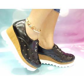 35d63b92d2a71 ... Mujer Ultima Tendencia De La Moda. Bogotá D.C. · Zapato Dama Calzado  Oxford Moda 2017 Charol Negro Plataforma