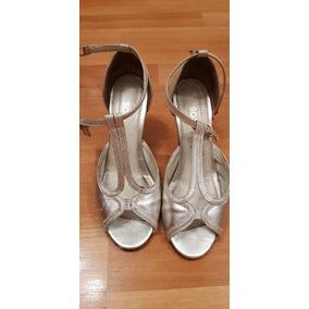 d21a036b Zapato Baile Usado - Zapatos de Mujer Plateado, Usado en Mercado ...