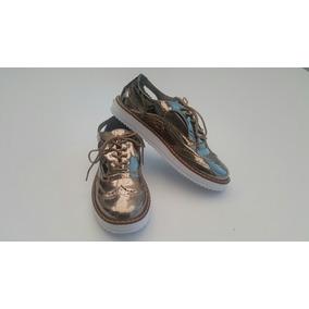 8527b44c4c857 Zapatos Oxford Mujer Plateados - Ropa y Accesorios en Mercado Libre ...