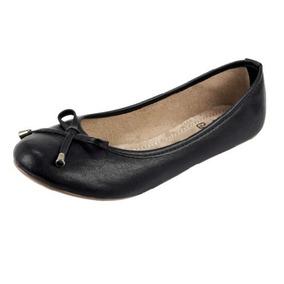 Flats Dama Ganzo Color Negro