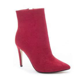 Zapato Dama Bota Song Bird Rojo B&b Chinese Laundry