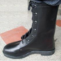 Botas En Cuero Tipo Militar Calzado Antideslizante Medellin