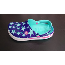 Zapatos Crocs Band Mujer Fantasia Original