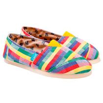 Alpargata Paez Reggae 101 Multicolor Hombre