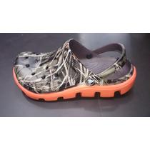 Zapatos Crocs Tractor Hombre Camuflada Original