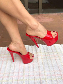 bfd8a9ac Tacones De 15 Cm Mujer Zapatillas - Zapatos Tacos en Mercado Libre ...