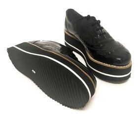 precio moderado comprar nuevo comprar baratas Zapatos Abotinados Mujer Charol Plataforma Monakia Art 150