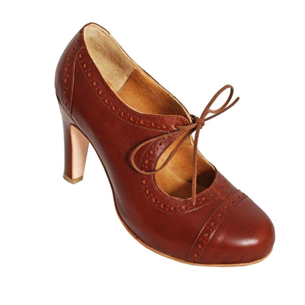 ccaa0c5f Zapatos Acordonados De Novia Cerrados Nude Suela En Cuero - $ 2.499 ...