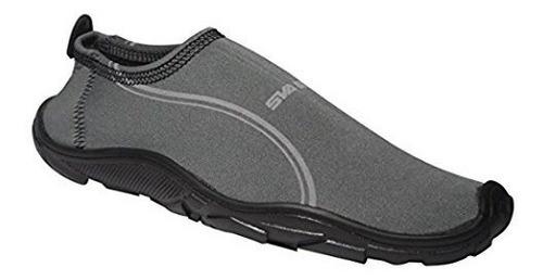 zapatos acuaticos modelo aqua,  color gris