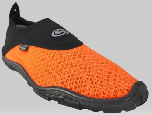 zapatos acuaticos modelo cool naranja
