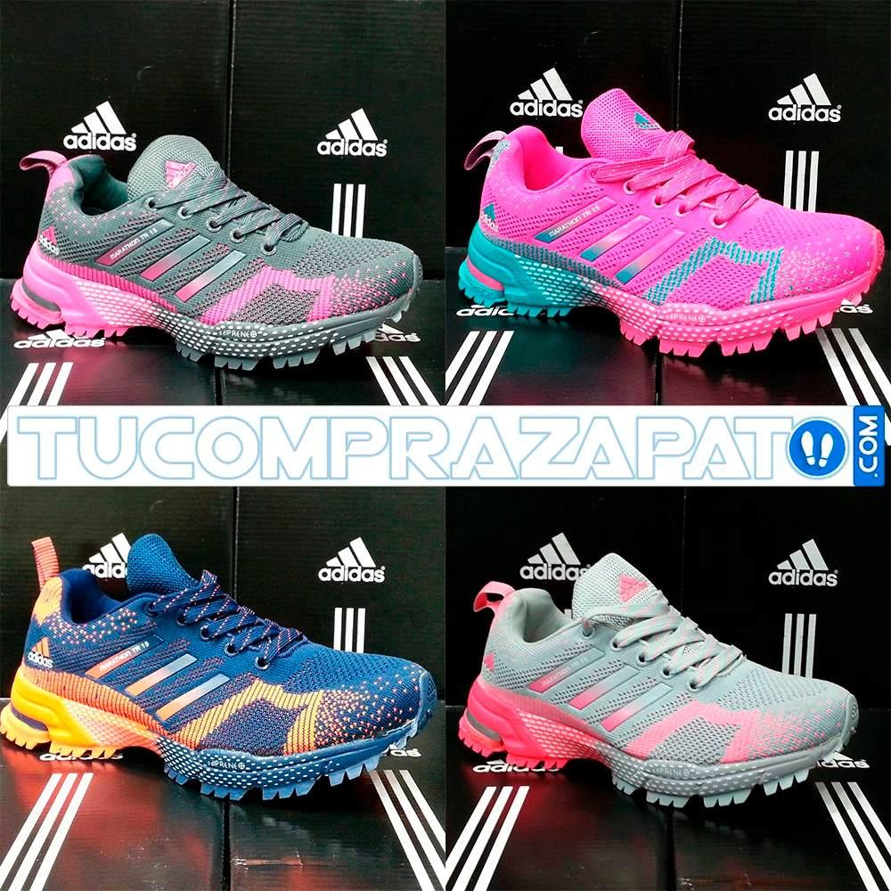 Marathon 15 Tr Y Caballero Adidas Zapatos Dama 0kZXOwPNn8
