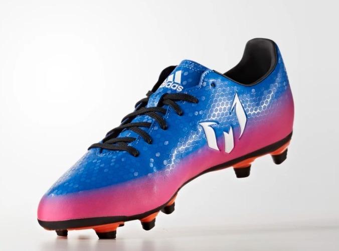 mejor calidad Estados Unidos mejor elección Zapatos adidas Messi 16.4 Fx G Azul Rosa 25.5-28 Original