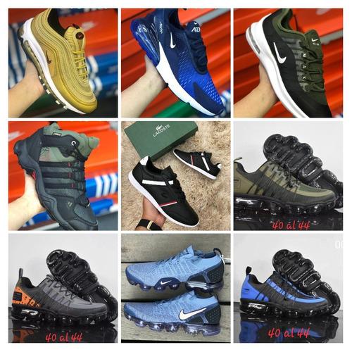 zapatos adidas nike pumas lacoste nuevos modelos originales