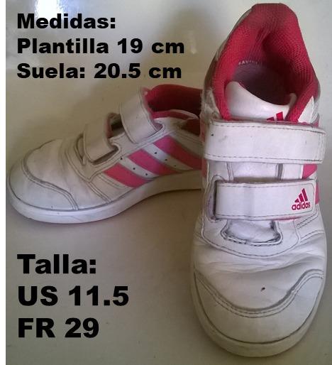 cb1fc5455 Zapatos adidas Originales Para Niñas - Bs. 750