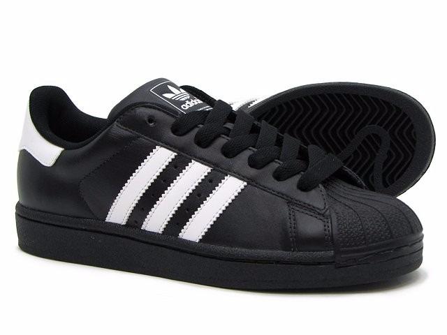 zapatos adidas negro y blanco