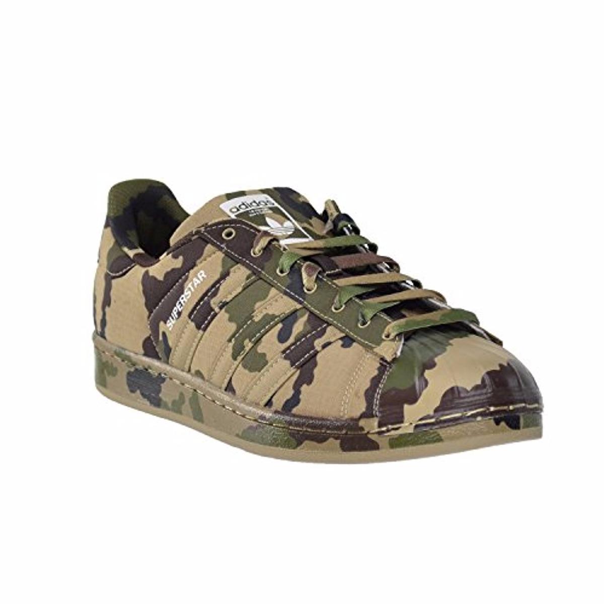 Zapatos 8 Superstar 5us Originales Adidas Camuflaje fyIg76vYbm