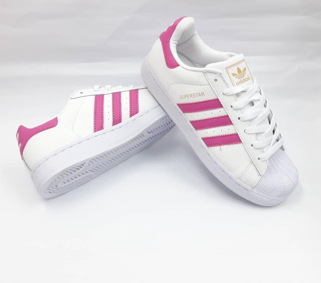 new concept 90c14 11ea3 zapatos adidas superstar de dama. Cargando zoom.