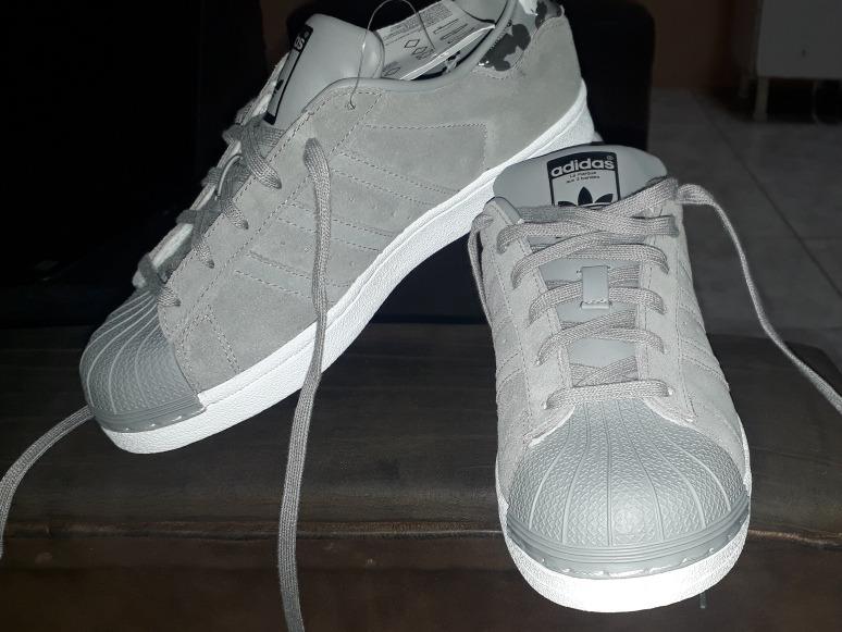 ecf5a3768 Zapatos adidas Superstar Nuevos Talla 37 O 37 Y Medio - U S 75