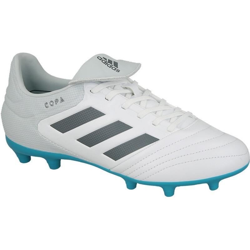 45a091bfb9c73 zapatos adidas tacos copa 17.3 piel blanco vacuno futbol. Cargando zoom.