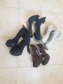 7277e35fb5c Zapatos Altos Con Plataforma Usados Talla 40 · Bs. 12.000