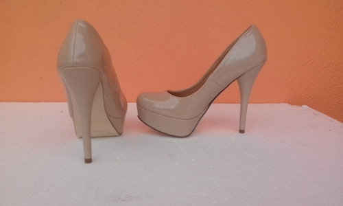 zapatos altos plataforma wildpair nuevos #37
