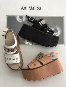 Mujer Moda Zapatos Verano Altos Tachas EY29WDHI