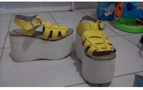 Mujer 350 Amarillos En 00 Libre Zapatos Mercado wqTC6C5