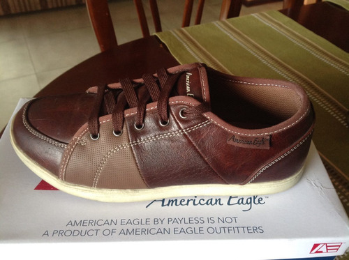 zapatos american eagle cafes/marrón