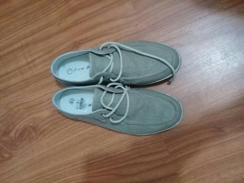 zapatos american eagle grises