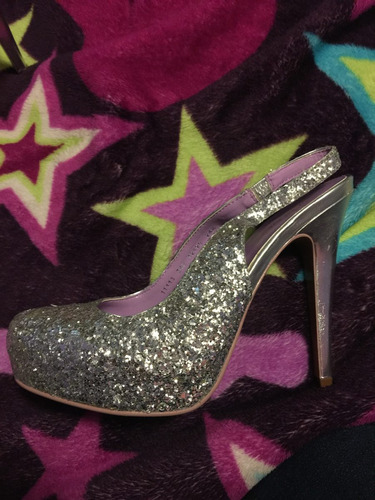 zapatos andrea plateados
