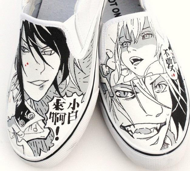 Zapatos Mano Diseño Marca Manga A Hecho Collec Anime 8nkXOP0wN