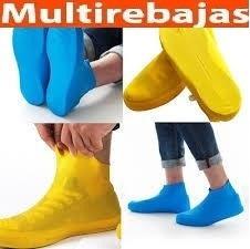 zapatos antideslizantes impermeables de silicona