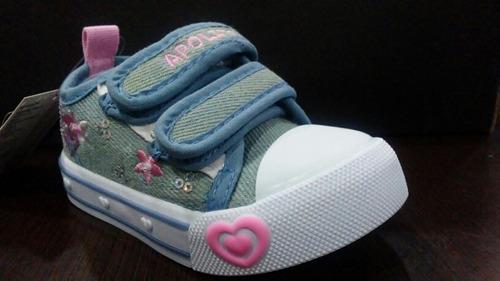 zapatos apolitos niños y niñas del 19 al 24