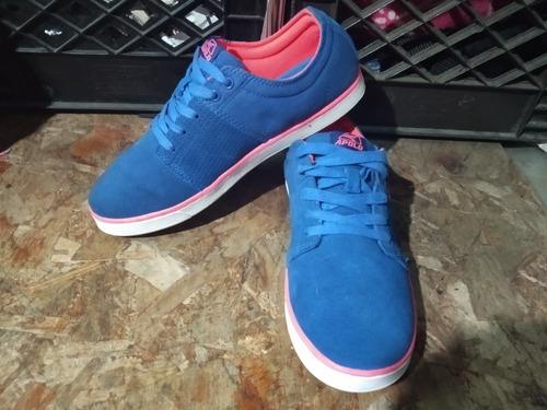 zapatos apolo azules talla 38