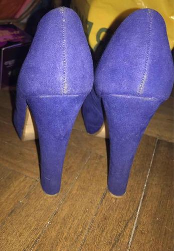 zapatos azules 37