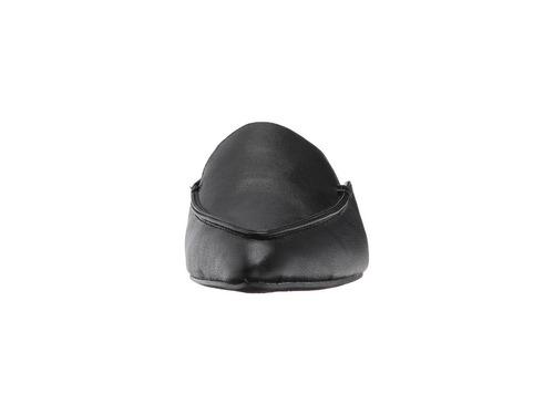 zapatos babuchas negros esprit de cuero