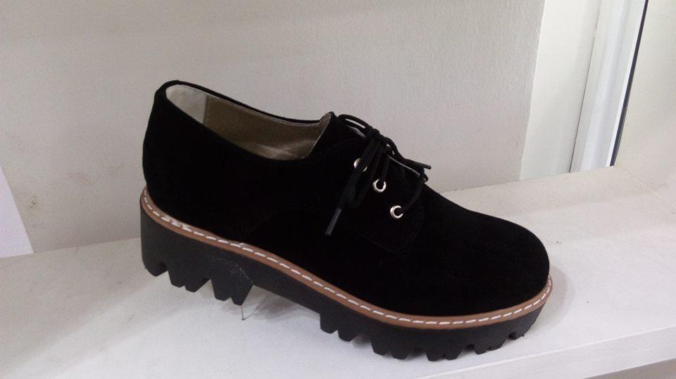 Zapatos Bajitos Gamuza Nuevo Mujer Cordones Gomon 2018 Invie -   749 ... 6aea353d58bd