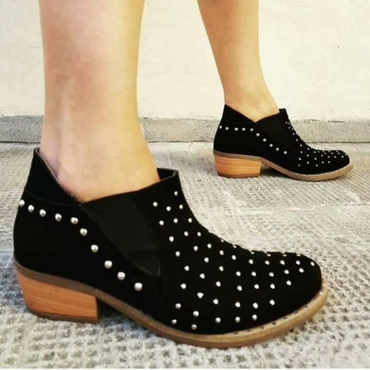 Cuero Zapatos Mujer Bajos 210 Moda 2018 Texana CdxWoerB