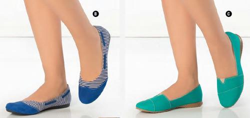 zapatos bajos y balerinas